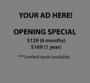Your ad here from $129