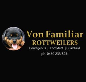 Von Familiar Rottweilers