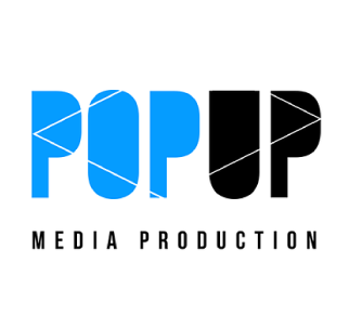 Pop Up Media Production Logo